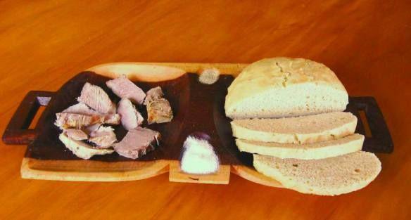 Zulu steamed bread