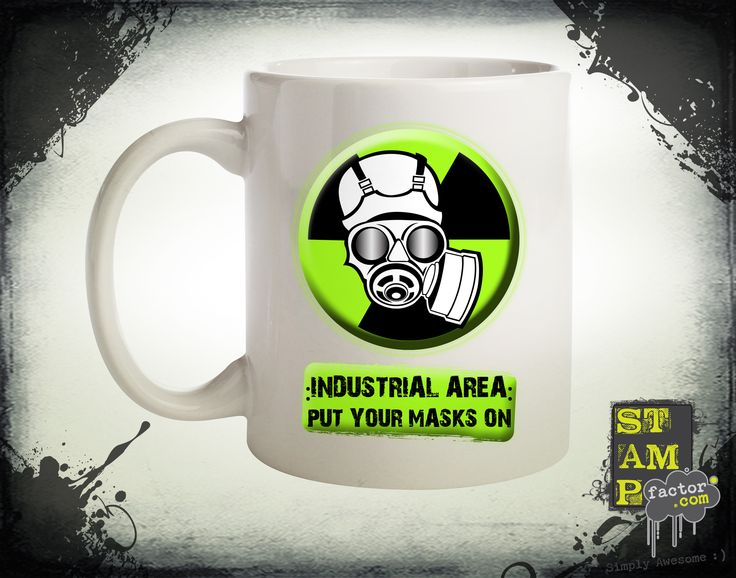 Put Your Masks On (Version 02) 2014 Collection - © stampfactor.com *MUG PREVIEW*