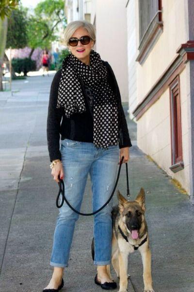 Beth Djalali, 69, modelo e blogueira de moda