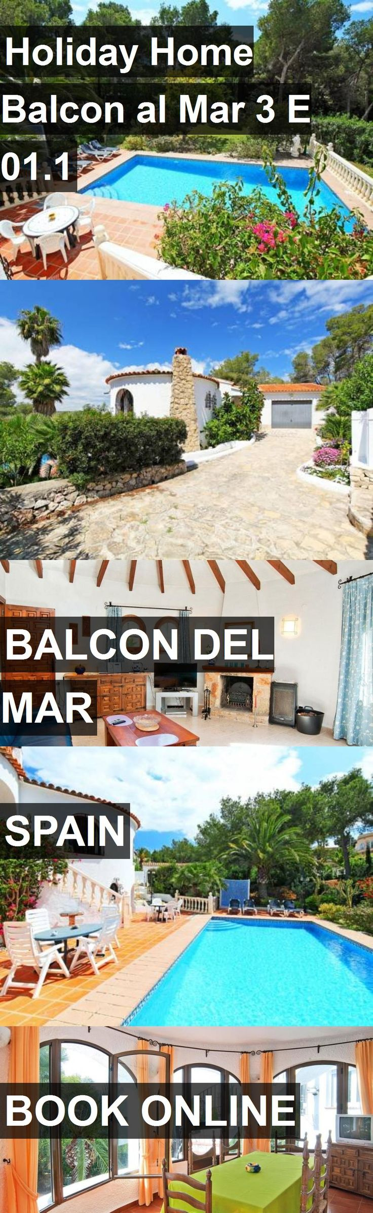 Hotel Holiday Home Balcon al Mar 3 E 01.1 in Balcon del Mar, Spain. For more information, photos, reviews and best prices please follow the link. #Spain #BalcondelMar #travel #vacation #hotel