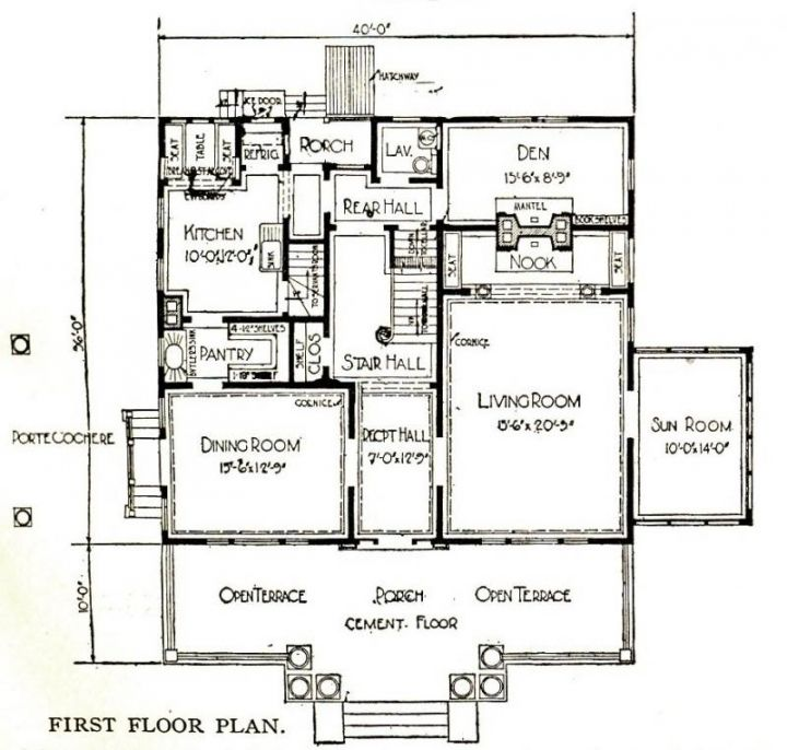 Image Result For Open Floor Plan With Stairs In Middle Notebook House House Floor Plans Floor Plans