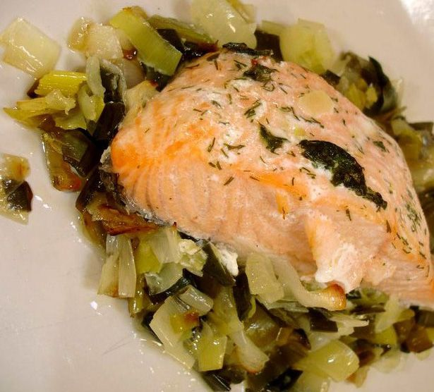 Healthy Salmon Fillet Recipe - Salmon In Foil recipe - Salmon Fillets Baked In Foil Recipe