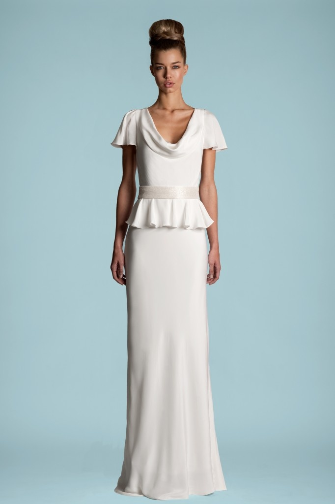 24 best Vintage Style Wedding Dresses images on Pinterest | Short ...