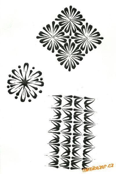 Pár vzorů pro inspiraci na kraslice malované rozehřátou voskovkou pomocí špendlíku.Když mě ještě něc...