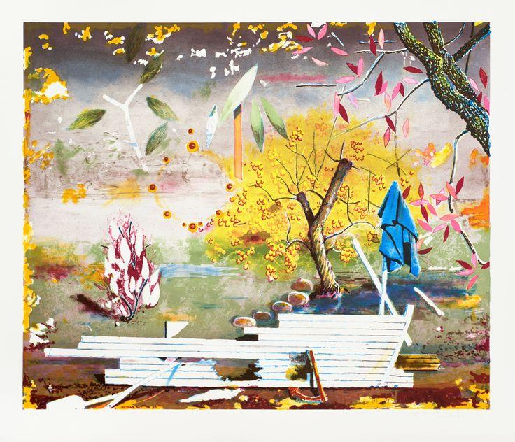 Маттиас Вайшер. Современное искусство. Современная живопись. Приземление, 2012