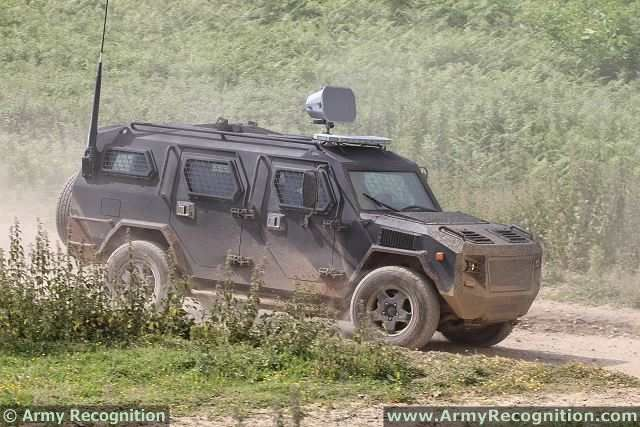 COBRA is a 4x4 armoured vehicle personnel carrier (APC)