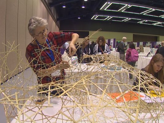 More than 6,000 mathematicians crammed more than 2,800 lectures and speeches into their brains at the annual conference of the Joint Mathematicians Meetings held at the Seattle Convention Center.