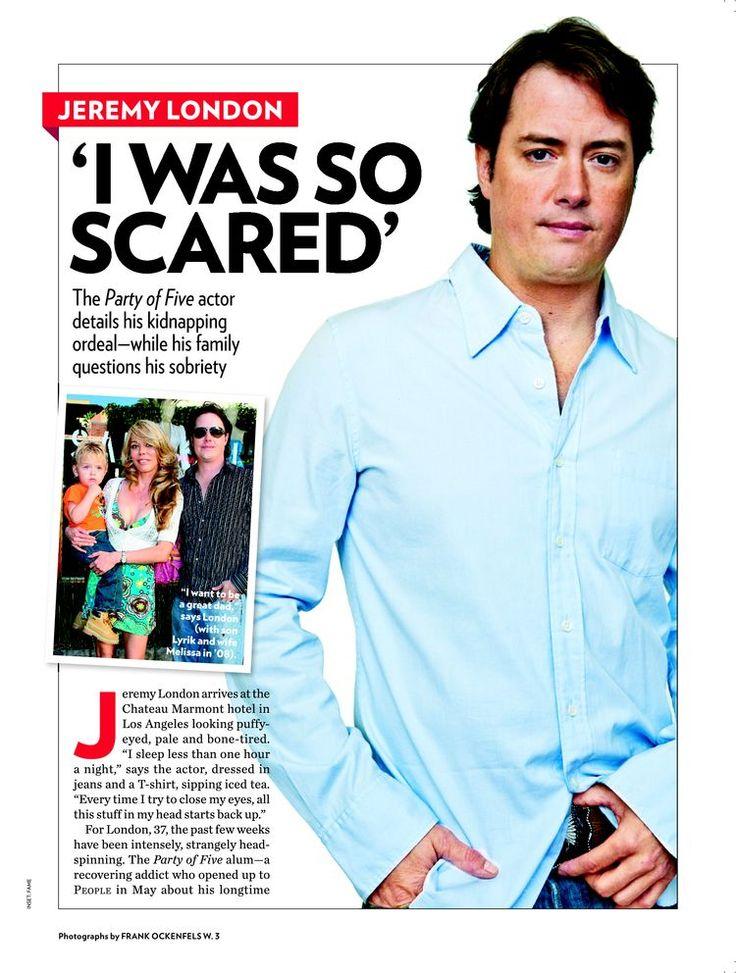 Jeremy London: 'I Was So Scared' - Jeremy London : People.com