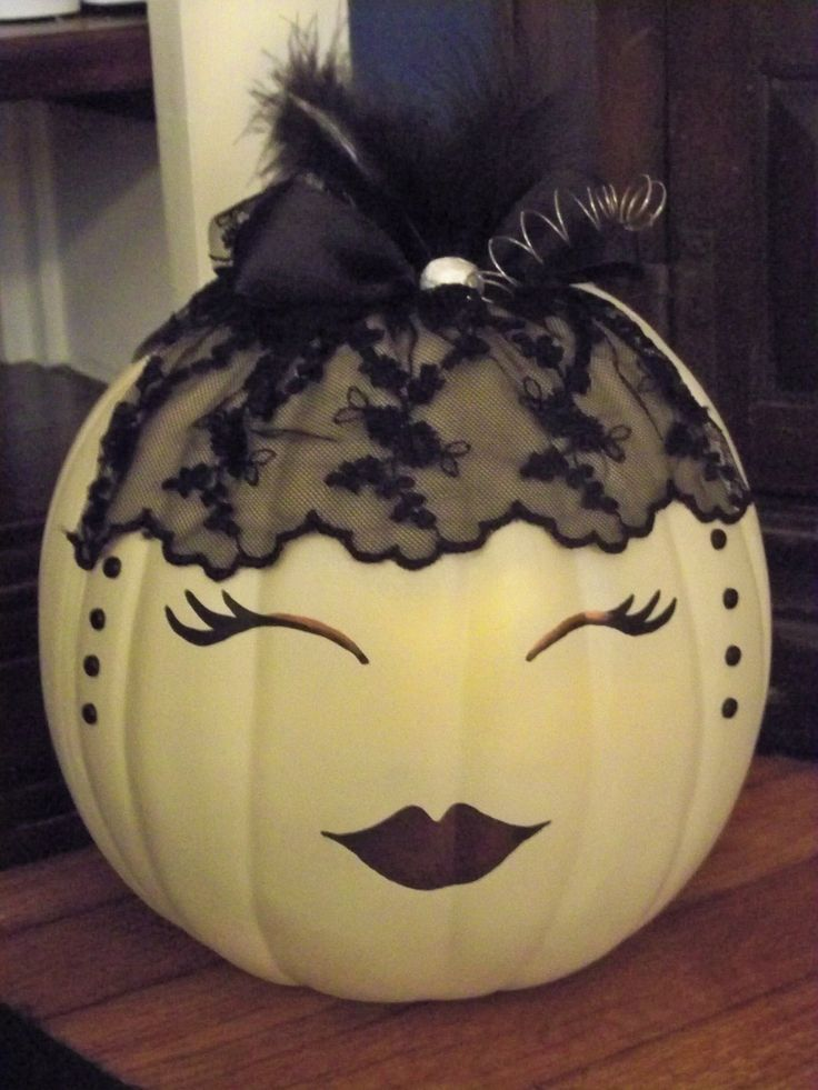 Little Miss Steampunk Pumpkin. $24.00, via Etsy.