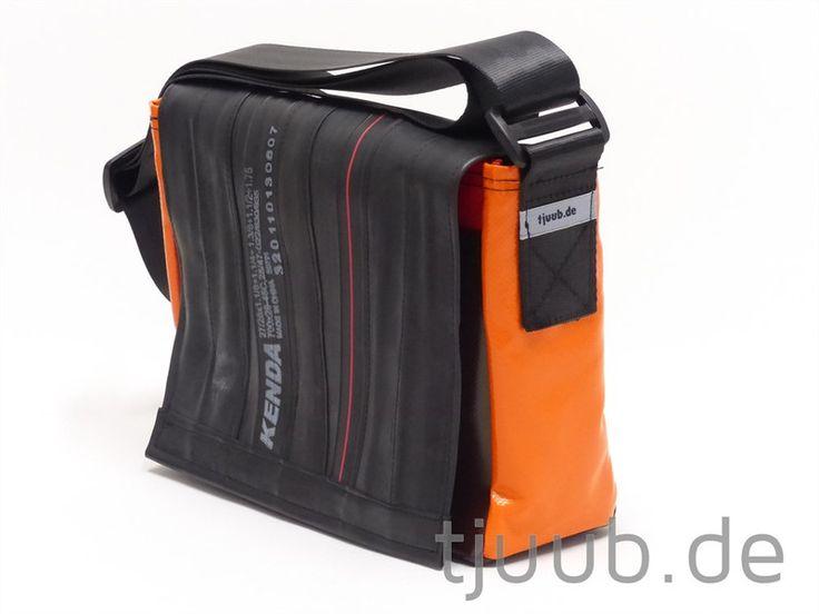 Messengerbags - Bikebag QS-Messengerbag-Tasche *Plane+RadSchlauch* - ein Designerstück von tjuub bei DaWanda