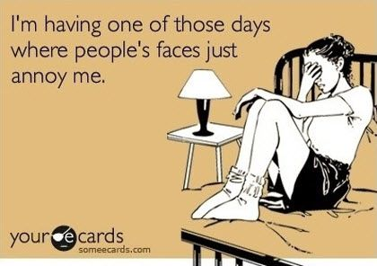 This was so me yesterday...  OK and the day before too... and a few times last week... {DL }