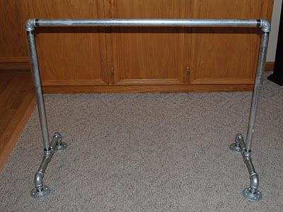 how to make a metal ballet barre