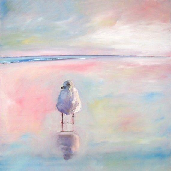 Para que tú me oigas mis palabras se adelgazan a veces como las huellas de las gaviotas en las playas. (((Pablo Neruda)))
