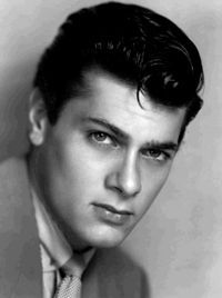 Tony Curtis born Bernard Schwartz, actor, once married to Janet Leigh, father of Kelly Curtis, Jamie Lee Curtis (Some Like It Hot, The Defiant Ones, Spartacus, Operation Petticoat) 1925-2010