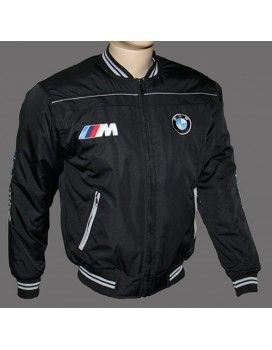 BMW MPower Black Jacket with embroidered logos from http://autofanstore.com