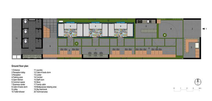Gallery of Ccasa Hostel / TAK architects - 33