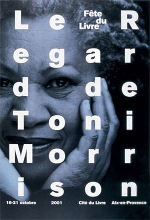Philippe Apeloig - Le regard de Toni Morrison #apeloig #graphicdesign #poster