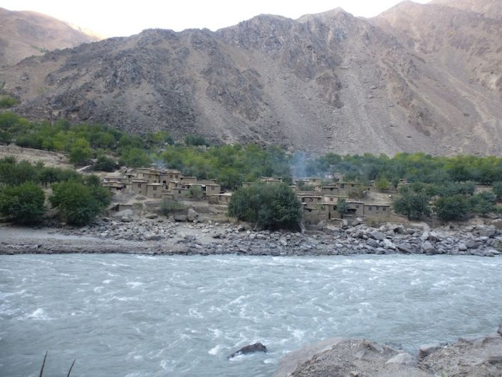 The Oxus River (Djihoun in Arabic).  The Battle of the Oxus River was an important battle in the 7th century, fought between the armies of the Sassanid Empire and the Arab Muslim army that had invaded Persia.  After his defeat, the last Sassanid emperor, Yazdegerd III, became a fugitive hunted who fled to Central Asia and China.
