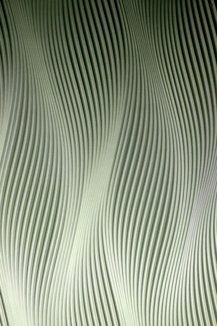 VIRTUELL - 3D wall panel in green | wall design . Wandgestaltung . mural | Design: Material Innovativi |