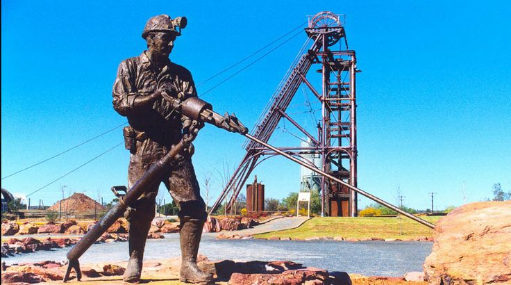 Miners Statue