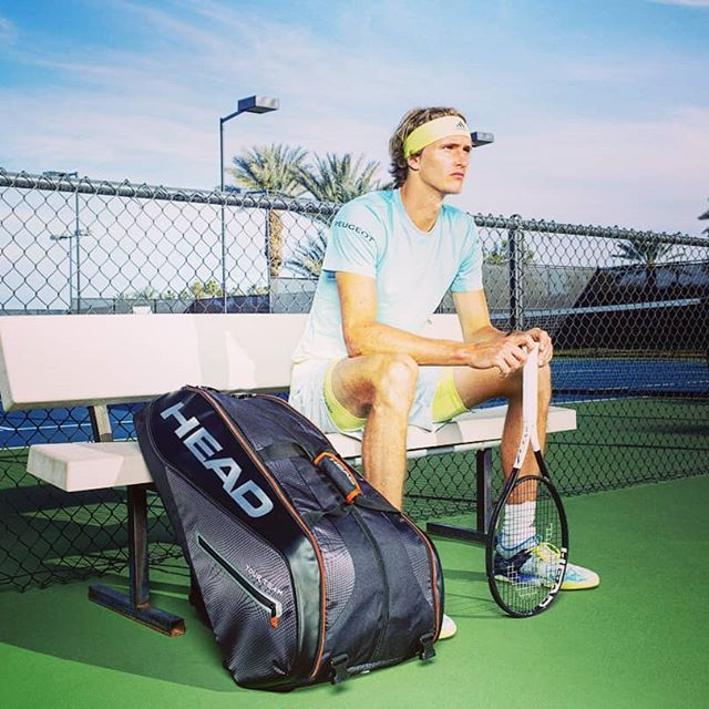 Alexander Zverev Head Tennis Bags Women Tennis Bags Essential Tennis Bag Tennis Racket Backpack Whats In Your Tennis Bag Tennis Gear Tennis Outfit Tenn