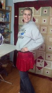 Healthy Diva: DIY Sparkle Skirt
