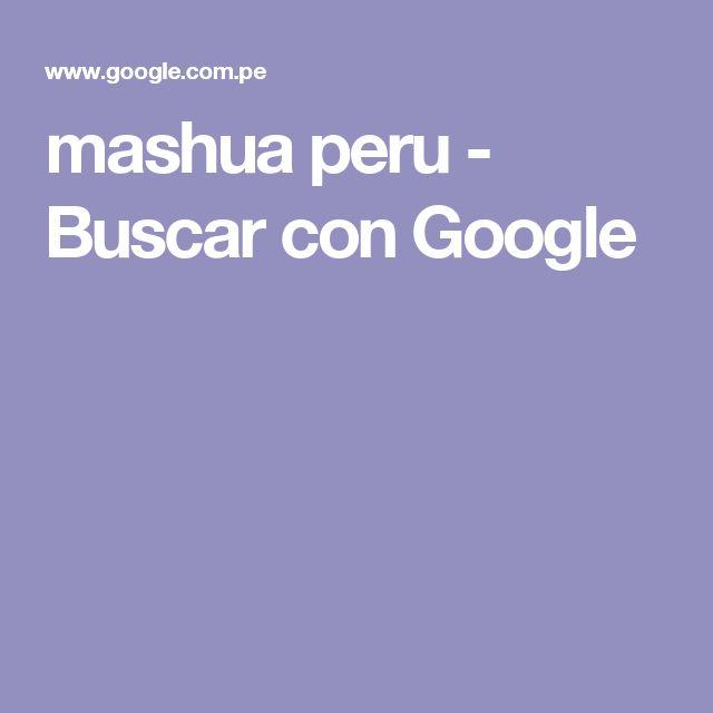 mashua peru - Buscar con Google