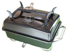 Raptor Portable Charcoal Grill - Black