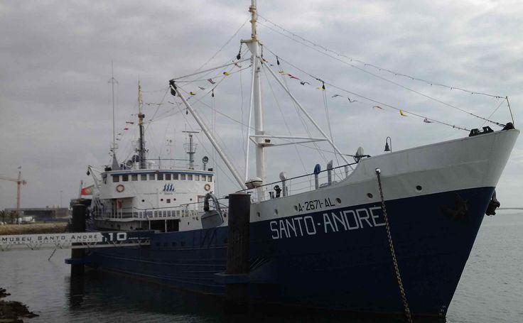 Het schip Santo André maakte deel uit van de Portugese kabeljauwvloot en is gebouwd in Deest bij Nijmegen. Na 50 jaar op zee, is het nu een museum. #kabeljauw #museum