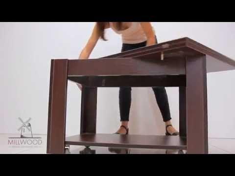 Столик журнальный раскладной Jazz5 - YouTube