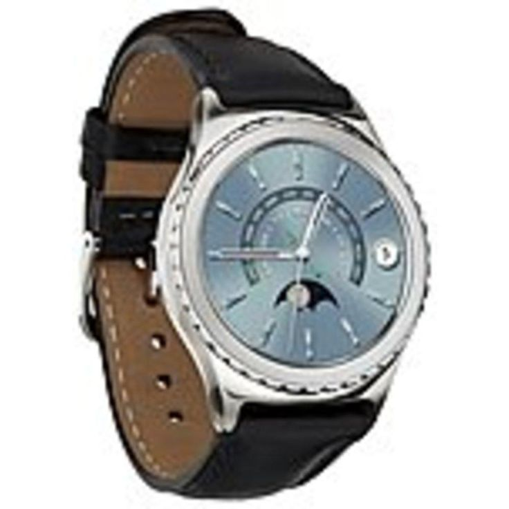 Samsung Gear SM-R7320WDAXAR S2 classic SM-R732 Smart Watch - Accelerometer, Gyro Sensor, Ambient Light Sensor, Barometer, Optical Heart Rate Sensor, Altimeter - Calendar, Text Messaging, Email - Steps Taken - ARM Cortex A71 GHz Dual-core (2 Core) - 4 GB -