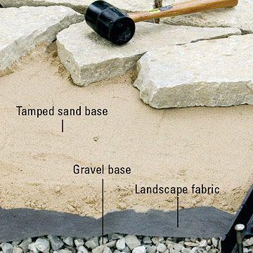 diy brick patio   ... : Tips, Techniques - Patios, Walkways, Walls & Masonry. DIY Advice