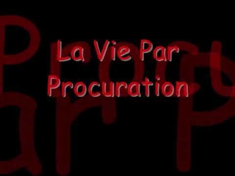 Jean-Jacques Goldman - La Vie Par Procuration (Paroles) - YouTube