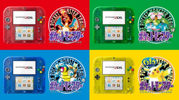 Classic Pokemon 2DS