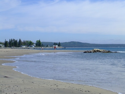 Beach on Green Bay