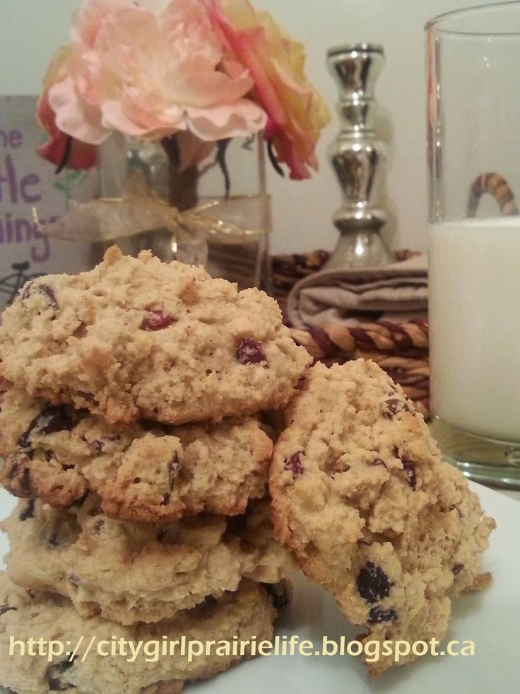 Cooking With Love: Gluten Free Cranberry, Chocolate Chip & Oatmeal Co...