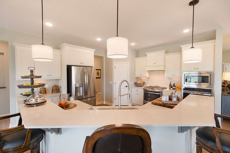 Do you LIKE the shape of this kitchen island?!