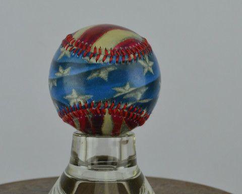 Americana - Printed Baseball – Sport art by ArtSportive