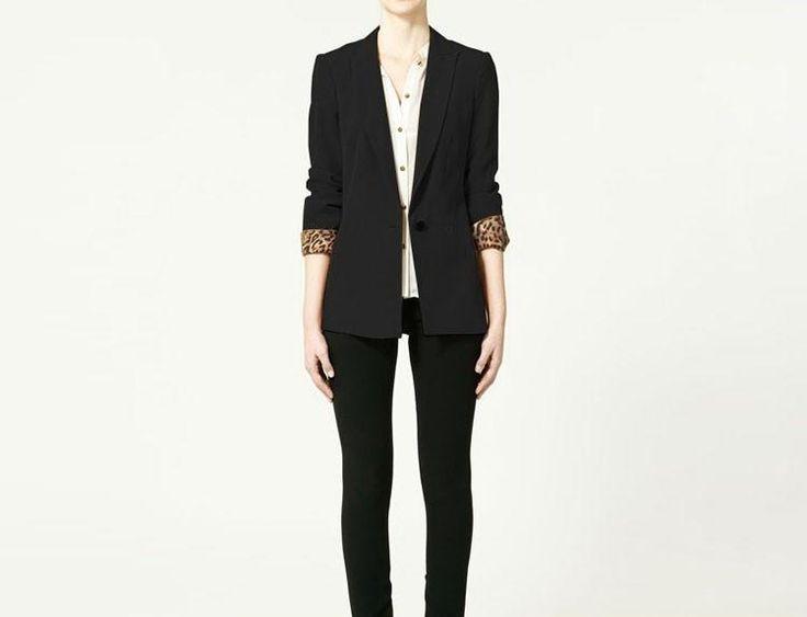 Черный пиджак женский стоимость