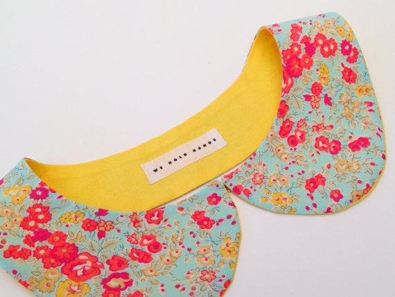 Etsy round up: bright peter pan collars for spring