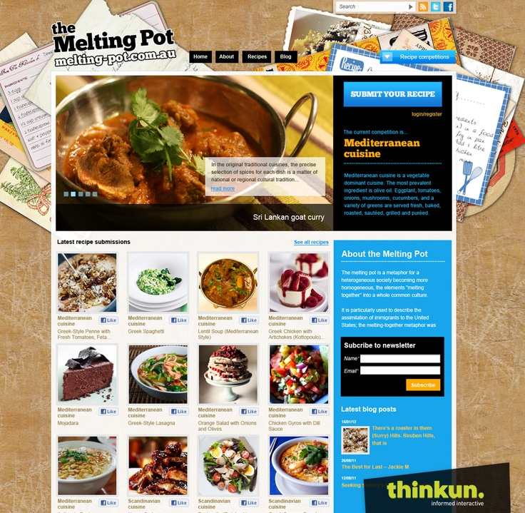 the Melting Pot competition