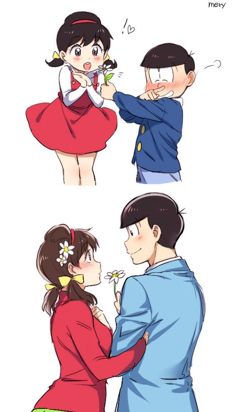 Osomatsu and Totoko