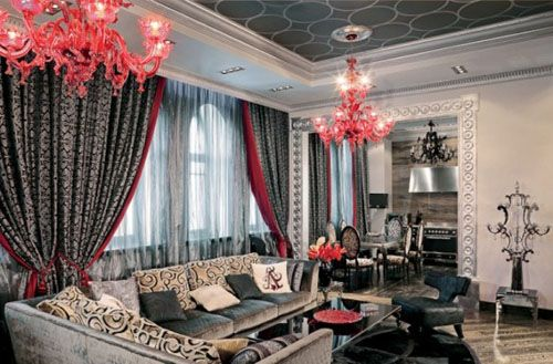 Grand living room. #asianpaints
