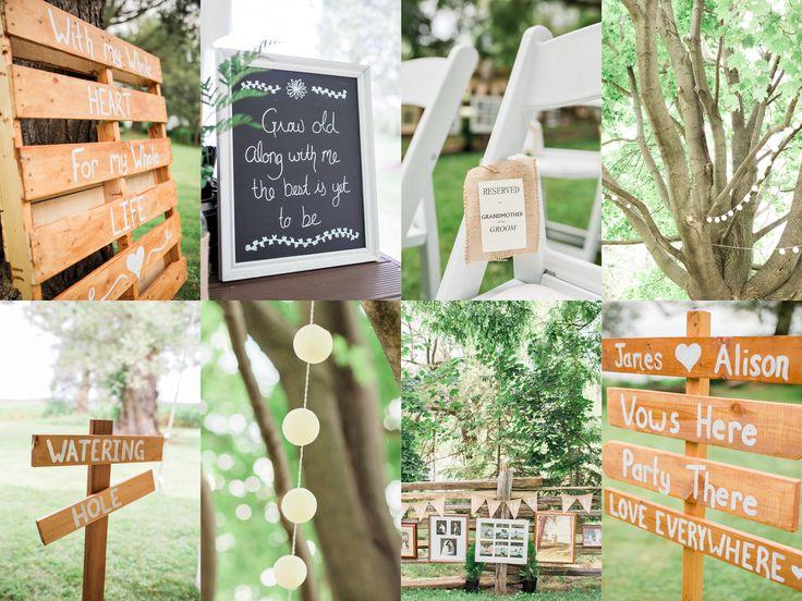 Rustic Backyard Wedding » Rosenlee Photography