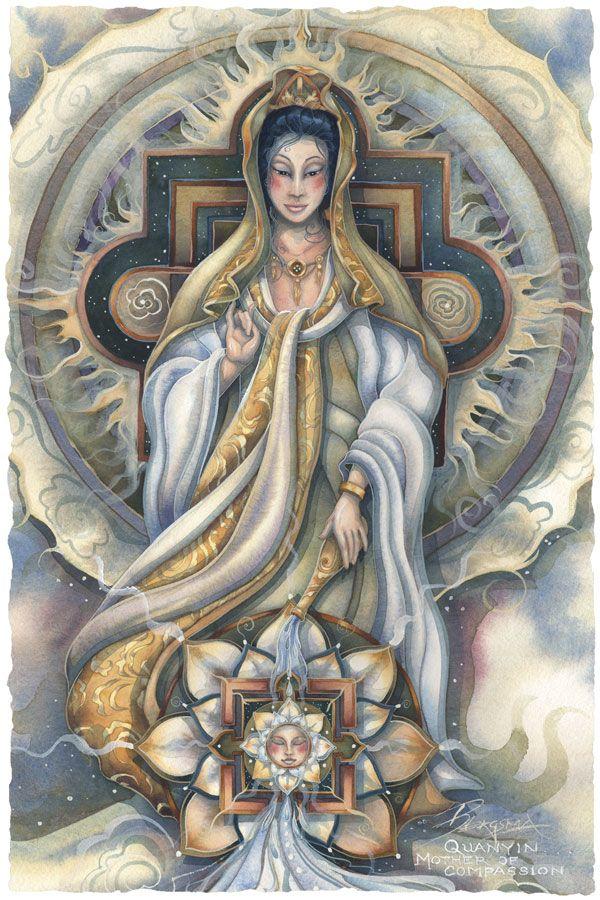 33 best quan yin goddess of mercy images on pinterest buddha quan yin jody bergsma altavistaventures Choice Image