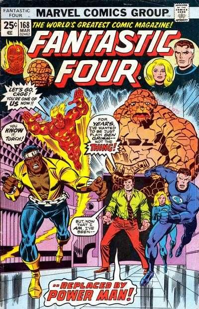 Fantastic Four # 168 by Rich Buckler & Joe Sinnott