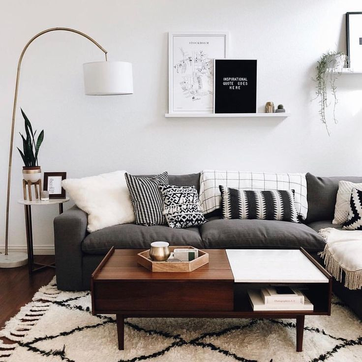 Overall It S Fine But Feels Too Dull Feels Like It S A Bit Colour In It Great Home Decorations Living Room Decor Apartment Living Room Scandinavian Small Apartment Living Room