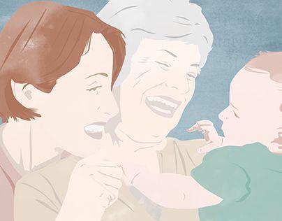 "Illustrazione digitale  @Behance portfolio: ""Madre, illustrazione"" http://be.net/gallery/52518901/Madre-illustrazione   www.alkestudio.it"
