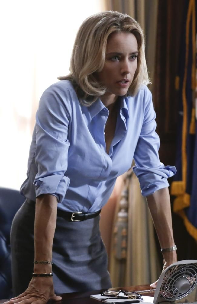 Strong leader ... Tea Leoni is perfectly cast in Madam Secretary.