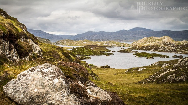 Picture of loch along the Golden Road, Harris, Outer Hebrides, Scotland